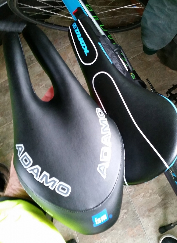 Review Ism Adamo Prologue Bicycle Seat Random Bits
