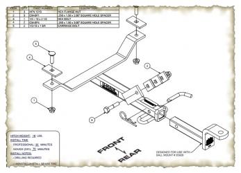hitch schematic except