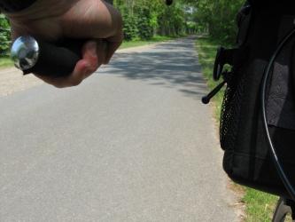 Bike Perspective Photo