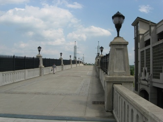 The Hudson River Way Pedestrian Bridge