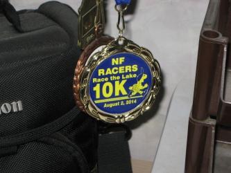 NF Race the Lake Medal, 3rd place, bike race