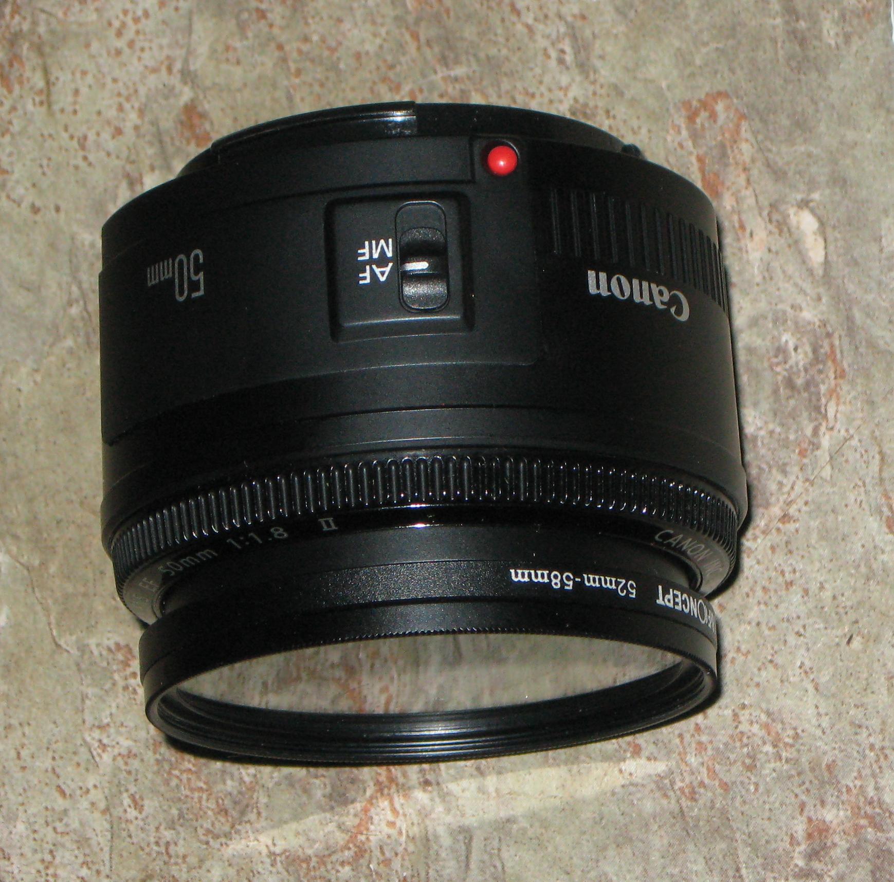 Review - The Canon EF 50mm f/1.8 II Lens - Random Bits
