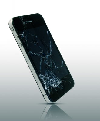 smash iphone