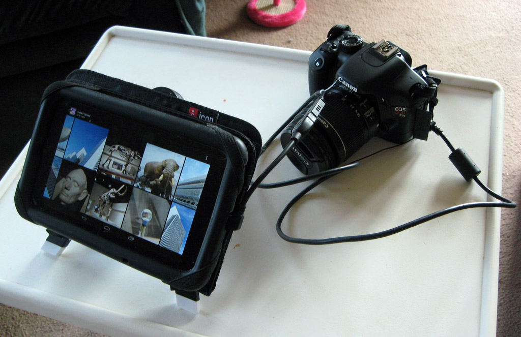 Canon Rebel Connected to Nexus via OTB cable