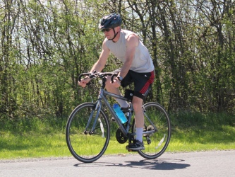 A good day for biking