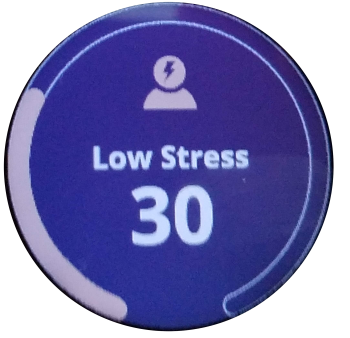Stress Level screen