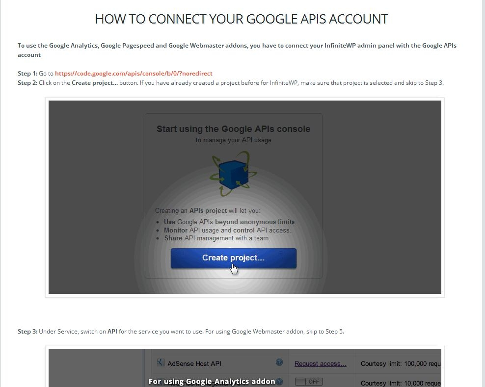 instructions google webmaster
