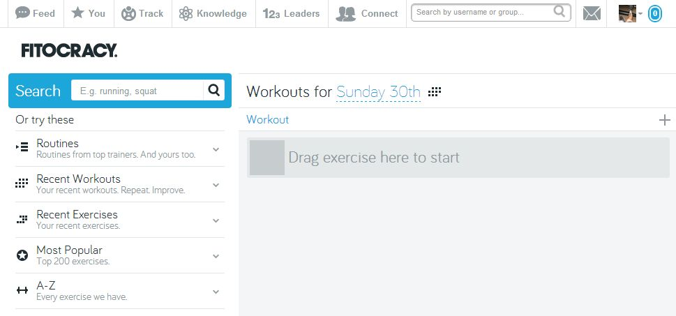 fitocracy log
