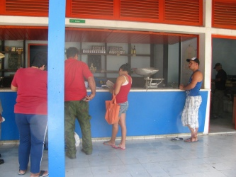 Bodega - Cubans get their government rations from places like this every month.