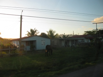 Very typical rural home