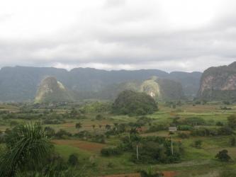 Haystack Mountain, limestone mogote in Viñales valley