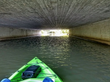 creepy-little-bridge-on-kayak-on-Muskellunge-Creekunder-route-180-8-13-19