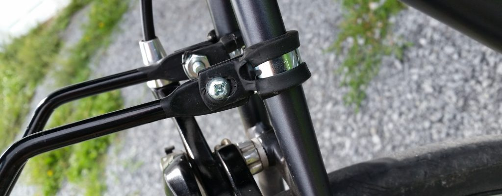 Adding a Bike Carrier Rack to a Bicycle without Mounts/Eyelets