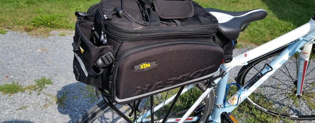Reviews – Topeak MTX TrunkBag DXP & Topeak Explorer Tubular Rack