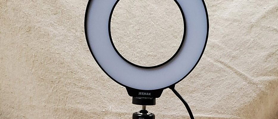 "Jeemak 6"" Ring Light with Stand Model PC46 – Review"