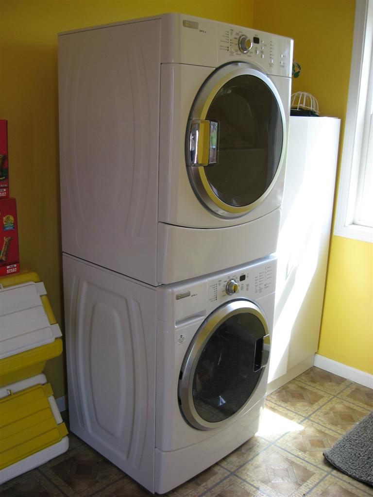 Maytag Front Loading Washer Dryer Addition Old House