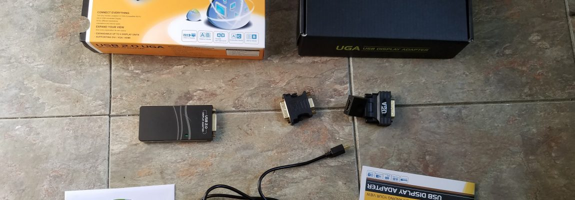 Review – DisplayLink USB to VGA /DVI / HDMI Graphics Adapter