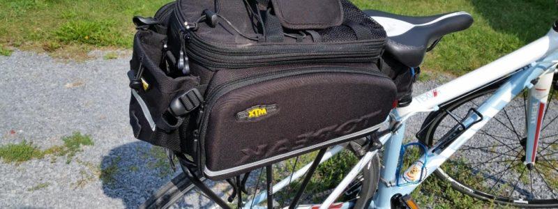 Reviews – Topeak MTX TrunkBag DXP & Topeak Explorer Tubular Rack